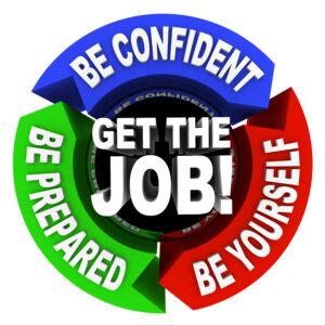 get the job circular arrow diagram